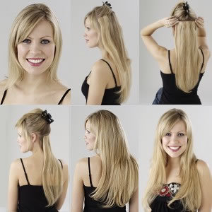 Video Instruction Clip On Hair Extensions 86
